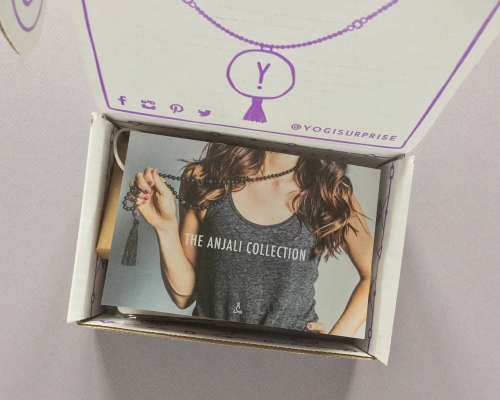 Yogi Surprise Jewelry Subscription Box Review + Coupon Code – November 2018