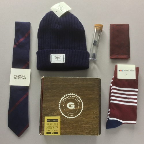 Gentleman's Box Review + Coupon Code – December 2018