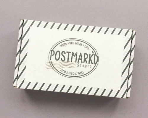 Postmark'd Studio Subscription Box Review + Coupon Code – January 2019