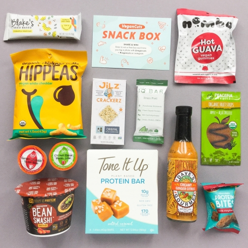 Vegan Cuts Snack Box Subscription Box Review – January 2019