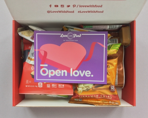 Love With Food Subscription Box Review + Promo Code – February 2019