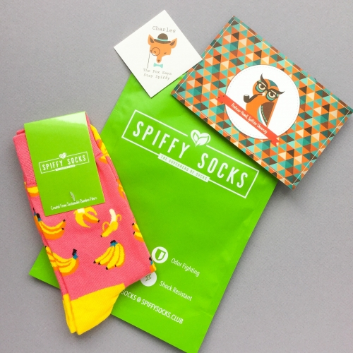 Spiffy Socks Subscription Box Review + Coupon Code – March 2019