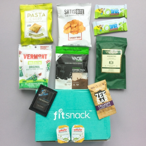 Fit Snack Subscription Box Review + Discount – March 2019