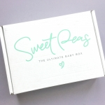 Sweet Peas Baby Subscription Box Review – Spring 2019