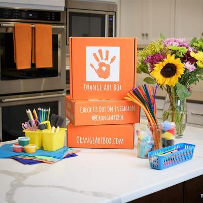 Orange Art Box