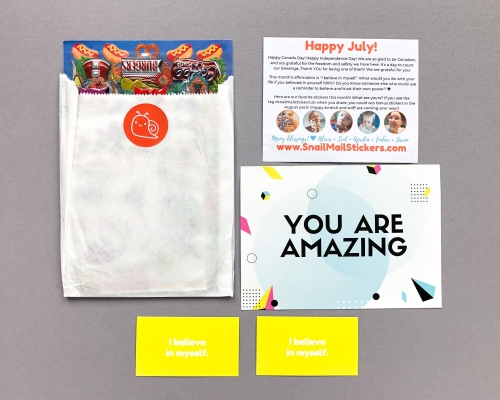 Snail Mail Stickers Subscription Box Review + Coupon Code – July 2019