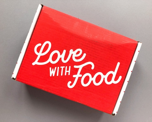 Love With Food Subscription Box Review + Promo Code – August 2019