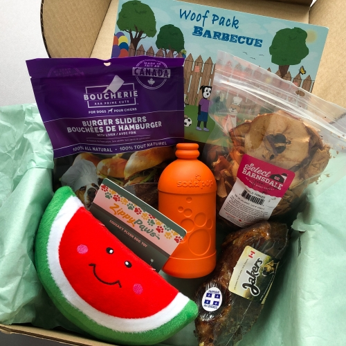 Woof Pack Subscription Box Review + Coupon Code – July 2019