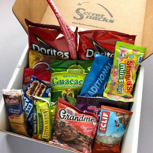 Secret Snacks Subscription Box Review – August 2019
