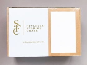 Styleyes Fashion Crate Subscription Box Review – September 2019