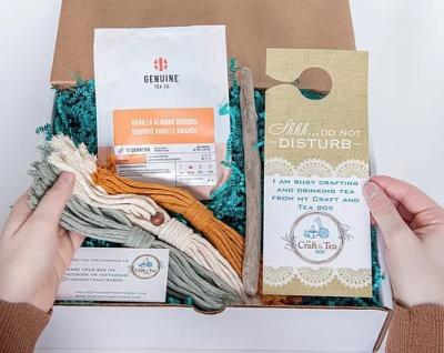 The Craft and Tea Box
